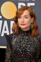 Isabelle Huppert at the 75th Annual Golden Globe Awards at the Beverly Hilton Hotel, Beverly Hills, USA 07 Jan. 2018<br /> Picture: Paul Smith/Featureflash/SilverHub 0208 004 5359 sales@silverhubmedia.com