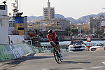 Jelle Wallays (BEL) Lotto-Soudal during Stage 1 of the La Vuelta 2018, an individual time trial of 8km running around Malaga city centre, Spain. 25th August 2018.<br /> Picture: Eoin Clarke | Cyclefile<br /> <br /> <br /> All photos usage must carry mandatory copyright credit (© Cyclefile | Eoin Clarke)