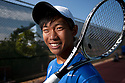 One of Rancho Bernardo High School's and San Diego's top boys tennis players William Chiu, a senior in April, 2013. photo for U-T San Diego