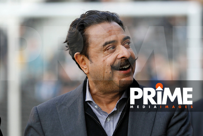 Fulham owner, Shahid Khan during the Sky Bet Championship play off semi final 2nd leg match between Fulham and Derby County at Craven Cottage, London, England on 15 May 2018. Photo by Carlton Myrie / PRiME Media Images.