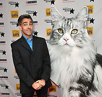 Andrew Collins<br /> Cats Protection's National Cat Awards, held by the Cats Protection celebrating feline tales of courage, promote benefits of cat adoption. The Savoy Hotel, London, England on August 02, 2018.<br /> CAP/JOR<br /> &copy;JOR/Capital Pictures