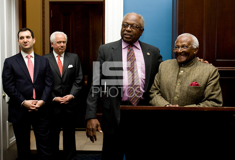James Clyburn, Desmond Tutu. The 2010 US Soccer Foundation Gala was held at City Center in Washington, DC.