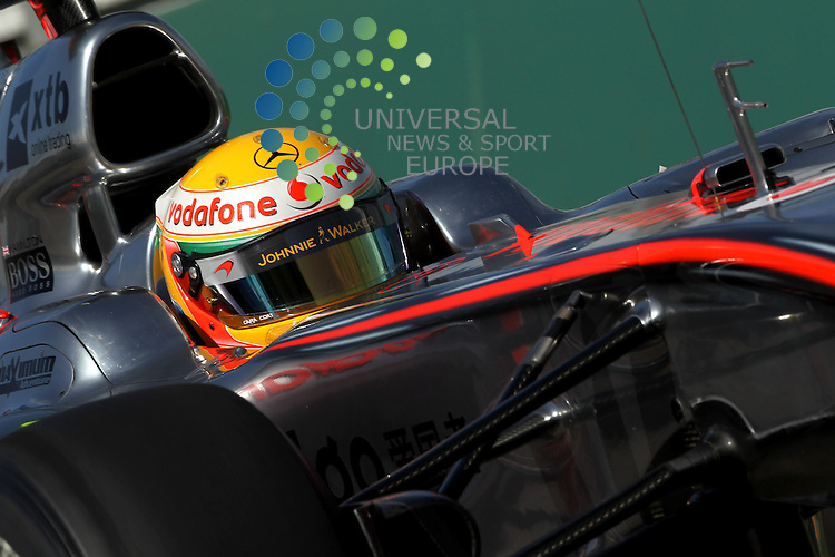 F1 GP of Australia, Melbourne 26. - 28. March 2010.Lewis Hamilton (GBR), McLaren F1 Team ..Picture: Hasan Bratic/Universal News And Sport (Scotland).