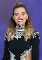 Montana Brown at the Aladdin European Gala Screening at the Odeon Luxe Leicester Square, London on May 9th 2019<br /> CAP/ROS<br /> ©ROS/Capital Pictures