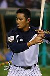Ginji (JPN), <br /> NOVEMBER 15, 2014 - Baseball : <br /> 2014 All Star Series Game 3 between Japan 4-0 MLB All Stars <br /> at Tokyo Dome in Tokyo, Japan. <br /> (Photo by Shingo Ito/AFLO SPORT)[1195]