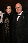 Cathy Vasapoli and Paul Shaffer attend the Broadway Opening Night of Sunset Boulevard' at the Palace Theatre Theatre on February 9, 2017 in New York City.