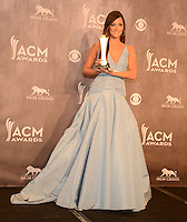 LAS VEGAS, NV - April 6: Album of the Year Award winner Kacey Musgraves at the 49th Annual Academy of Country Music Awards Press Room at the MGM Grand on April 6, 2014 in Las Vegas, Nevada. © Kabik/ Starlitepics