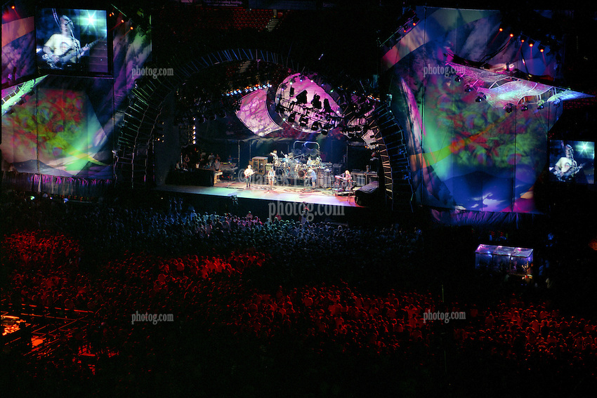 "The Grateful Dead Live at Giants Stadium 03 August 1994. Photograph taken during the song ""El Paso"""