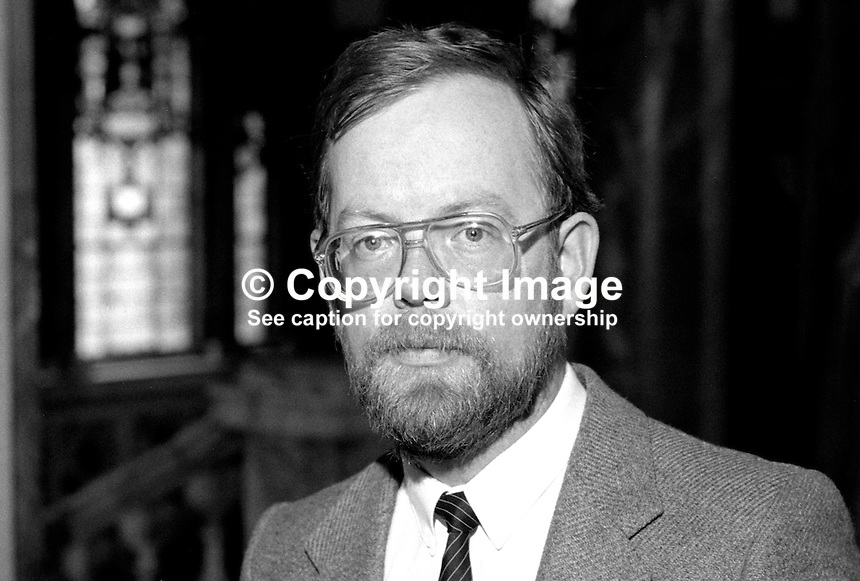 Gerard McGuigan, councillor, Provsional Sinn Fein, Belfast, N Ireland, 19850507GMG1..Copyright Image from Victor Patterson, 54 Dorchester Park, Belfast, UK, BT9 6RJ..Tel: +44 28 9066 1296.Mob: +44 7802 353836.Voicemail +44 20 8816 7153.Skype: victorpattersonbelfast.Email: victorpatterson@me.com.Email: victorpatterson@ireland.com (back-up)..IMPORTANT: If you wish to use this image or any other of my images please go to www.victorpatterson.com and click on the Terms & Conditions. Then contact me by email or phone with the reference number(s) of the image(s) concerned.