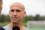 11.08.2019, Salmtalstadion, Salmrohr, GER, DFB-Pokal, 1. Runde FSV Salmrohr vs Holsteinm Kiel<br /> <br /> DFB REGULATIONS PROHIBIT ANY USE OF PHOTOGRAPHS AS IMAGE SEQUENCES AND/OR QUASI-VIDEO.<br /> <br /> im Bild / picture shows<br /> <br /> Trainer Andre SCHUBERT (Holstein Kiel)<br /> <br /> Foto © nordphoto / Schwarz