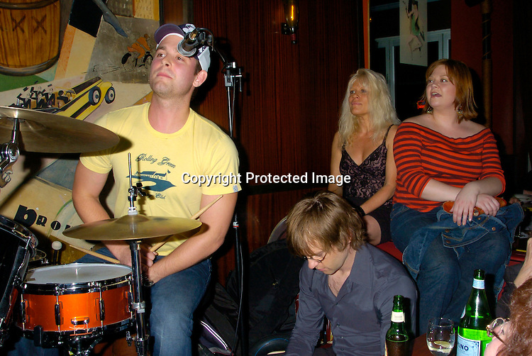 Jay Wilkison, Trevor St John, Ilene Kristen and Kathy Brier ..at Prohibition Night Club  for the Gabriel Project Benefit on June 5, 2004 in New York Citiy. The Gabriel Project provides heart surgery for children from developing countries.                                                                                Photo by Robin Platzer, Twin Images