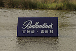 Ballantine's course branding at the BMW Masters 2013, which takes place from the 24-27 October at the Lake Malaren Golf Club in Shanghai.  Photo by Andy Jones / The Power of Sport Images for Ballantines.