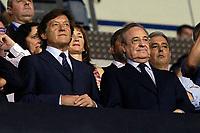 Real Madrid's President Florentino Perez (r) during La Liga match. August 20,2017.  *** Local Caption *** © pixathlon