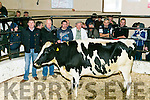 Best SPRINGING  dairy under 3 years At the Gortatlea Mart  Show and Sale on Tuesday Pictured were Maurice Brosnan (owner Gortatlea Mart), Jerome Leen, Munster AI, Sponsor, Ted Kennelly,  and judge Peter O'Connell