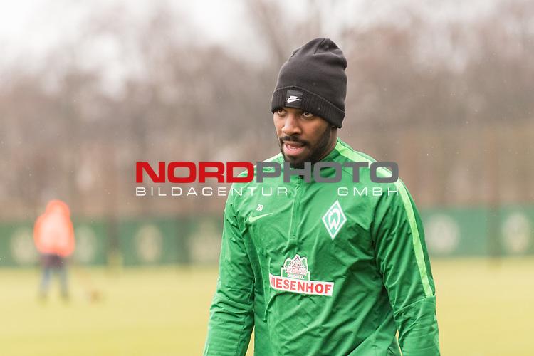 03.01.2017, Trainingsgelaende, Bremen, GER, 1.FBL, Training Werder Bremen<br /> <br /> im Bild<br /> Ulisses Alexandre Garcia (Bremen #20),. <br /> <br /> Foto &copy; nordphoto / Ewert