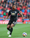 Manchester United's Antonio Valencia in action during the premier league match at the Britannia Stadium, Stoke on Trent. Picture date 9th September 2017. Picture credit should read: David Klein/Sportimage