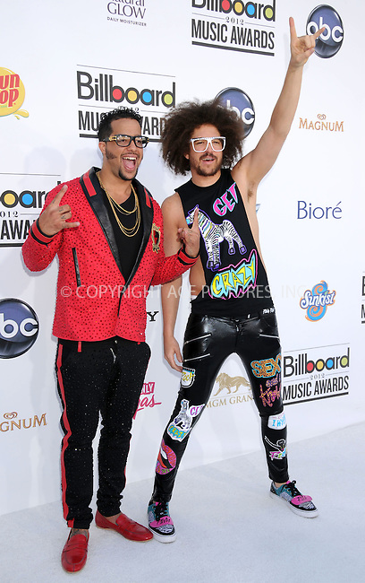 WWW.ACEPIXS.COM . . . . .  ..... . . . . US SALES ONLY . . . . .....May 20 2012, Las Vegas....LMFAO at the 2012 Billboard Awards held at the MGM Hotel and Casino in on May 20 2012 in Las Vegas ....Please byline: FAMOUS-ACE PICTURES... . . . .  ....Ace Pictures, Inc:  ..Tel: (212) 243-8787..e-mail: info@acepixs.com..web: http://www.acepixs.com