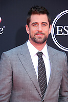 LOS ANGELES, CA - JULY 12: Aaron Rodgers at The 25th ESPYS at the Microsoft Theatre in Los Angeles, California on July 12, 2017. Credit: Faye Sadou/MediaPunch