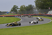 F4 US Championship<br /> Rounds 10-11-12<br /> Mid-Ohio Sports Car Course, Lexington, OH USA<br /> Friday 11 August 2017<br /> 2, Skylar Robinson, 8, Kyle Kirkwood, 86, Brendon Leitch<br /> World Copyright: Dan R. Boyd<br /> LAT Images