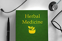 Medical book about herbal medicine