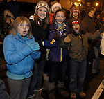 Ellington CT torchlight parade, December 1, 2012.