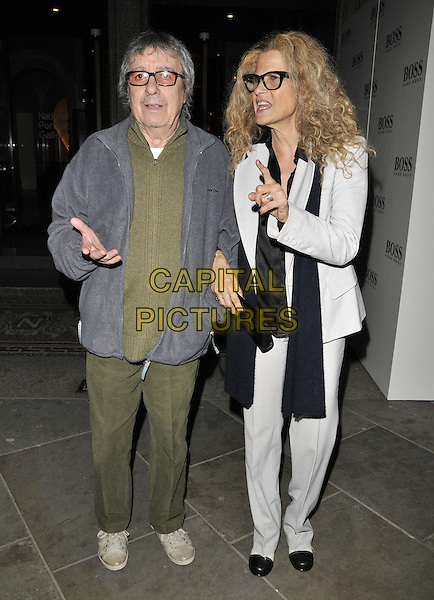 LONDON, ENGLAND - FEBRUARY 03: Bill Wyman &amp; Suzanne Wyman attend the David Bailey: Bailey's Stardust VIP private view, National Portrait Gallery, St Martin's Place, on Monday February 03, 2014 in London, England, UK.<br /> CAP/CAN<br /> &copy;Can Nguyen/Capital Pictures