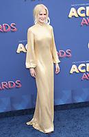 15 April 2018 - Las Vegas, NV -  Nicole Kidman.  2018 ACM Awards arrivals at MGM Grand Garden Arena. <br /> CAP/ADM/MJT<br /> &copy; MJT/ADM/Capital Pictures