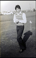 BNPS.co.uk (01202 558833)<br /> Pic: Hansons/BNPS<br /> <br /> Paul McCartney strolls on the putting green outside the hotel.<br /> <br /> Fascinating never before seen photographs of the Beatles during their Magical Mystery Tour have been unearthed after 50 years.<br /> <br /> The intimate snaps of the Fab Four were taken by a Beatles fan who was on holiday with his family at the Cornish seaside resort of Newquay at the time.<br /> <br /> The Beatles were in the town to record scenes for their Magical Mystery Tour film which was broadcast on Boxing Day 1967.<br /> <br /> Interestingly, the fan managed to capture the foursome in a private moment when they were not being mobbed by crowds of adoring fans.<br /> <br /> The images and their copyright have now emerged for auction and are tipped to sell for &pound;800.<br /> <br /> The vendor, who was in his late 20s at the time, snapped the Beatles entering The Atlantic Hotel in Newquay in September 1967.