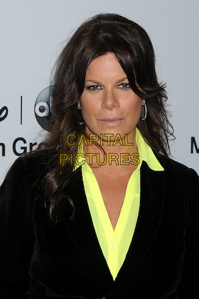 Marcia Gay Harden.Disney Media Networks International Upfronts 2013 held at Walt Disney Studios, Burbank, California, USA..May 19th, 2013.headshot portrait black suit yellow shirt  .CAP/ADM/BP.©Byron Purvis/AdMedia/Capital Pictures