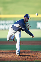 AZL Padres 1 relief pitcher Dylan Coleman (53) during an Arizona League game against the AZL Cubs 1 on July 5, 2019 at Sloan Park in Mesa, Arizona. The AZL Cubs 1 defeated the AZL Padres 1 9-3. (Zachary Lucy/Four Seam Images)