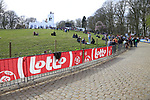 juniors climb the Kemmelberg during Gent-Wevelgem in Flanders Fields 2017 running 249km from Denieze to Wevelgem, Flanders, Belgium. 26th March 2017.<br /> Picture: Eoin Clarke | Cyclefile<br /> <br /> <br /> All photos usage must carry mandatory copyright credit (&copy; Cyclefile | Eoin Clarke)