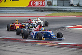 F4 US Championship<br /> Rounds 16-17-18<br /> Circuit of The Americas, Austin, TX USA<br /> Saturday 16 September 2017<br /> 27, Austin Kaszuba 28, Ben Waddell<br /> World Copyright: Keith Daniel Rizzo<br /> LAT Images