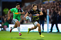 Tom Collins of Northampton Saints goes on the attack. Gallagher Premiership match, between Northampton Saints and Harlequins on September 7, 2018 at Franklin's Gardens in Northampton, England. Photo by: Patrick Khachfe / JMP