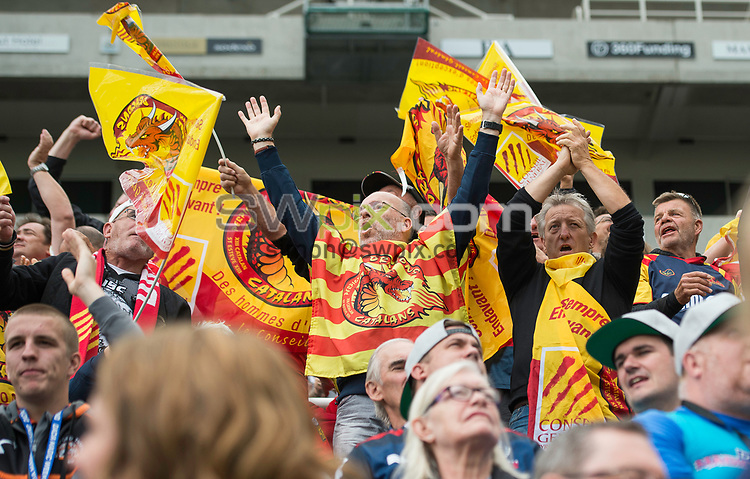 Picture by Allan McKenzie/SWpix.com - 21/05/2017 - Rugby League - Dacia Magic Weekend - Huddersfield Giants v Catalan Dragons - St James' Park, Newcastle, England - The brief, fans, supporters.