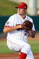 July 10, 2009: Tyler Kehrer 2009 1st round draft pick (#48) of the Orem Owlz, Rookie Class-A affiliate of the Los Angeles Angels of Anaheim, during a game at the Orem Owlz Ballpark in Orem, UT. Photo by: Matthew Sauk/Four Seam Images