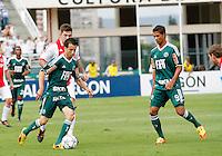 S&Atilde;O PAULO,SP, 14 JANEIRO 2011 - AMISTOSO PALMEIRAS X AJAX (HOL)<br /> Cicinho (e) Durante  partida entre as equipes do Palmeiras X Ajax (hol) realizada no  Est&aacute;dio Paulo Machado de Carvalho (Pacaembu) na zona oeste de S&atilde;o Paulo, neste Sabado (14). (FOTO: ALE VIANNA - NEWS FREE).