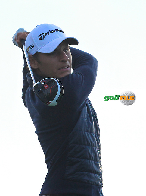 Joakim Lagergren (SWE) on the 11th tee during Round 1 of the Made in Denmark 2016 at the Himmerland Golf Resort, Farso, Denmark on Thursday 25th August 2016.<br /> Picture:  Thos Caffrey / www.golffile.ie<br /> <br /> All photos usage must carry mandatory copyright credit   (&copy; Golffile   Thos Caffrey)