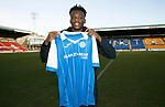 Matty Willock pictured at McDiarmid Park this afternoon after joining St Johnstone on loan from Manchester United….31.01.18<br />