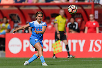 Bridgeview, IL - Saturday June 17, 2017: Danielle Colaprico during a regular season National Women's Soccer League (NWSL) match between the Chicago Red Stars and the Washington Spirit at Toyota Park. The match ended in a 1-1 tie.