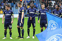 Mason Mount of Derby County lines up before Kick off during Queens Park Rangers vs Derby County, Sky Bet EFL Championship Football at Loftus Road Stadium on 6th October 2018