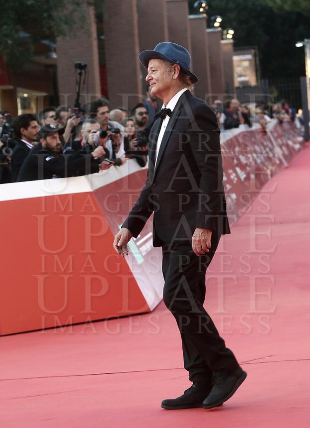 L'attore statunitense Bill Murray posa durante un red carpet alla 14^ Festa del Cinema di Roma all'Aufditorium Parco della Musica di Roma, 19 ottobre 2019.<br /> US actor Bull Murray poses for a red carpet during the 14^ Rome Film Fest at Rome's Auditorium, on 19 october 2019.<br /> UPDATE IMAGES PRESS/Isabella Bonotto
