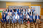 The Crotta O'Neill's U.21s hurling champions who were presented with their championship medals at the Crotta O'Neill GAA hurling social at Ballyroe Heights Hotel,Tralee on Saturday night by Brendan Cummins (former Tipperary Player)
