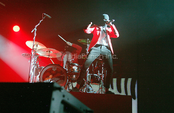 CAMDEN, NJ - JUNE 11 :  ***HOUSE COVERAGE*** 21 Pilots headline Radio 104.5 9th Birthday Show, day 1 at BB&T Pavillion in Camden, Jew Jersey on June 11, 2016 photo credit Star Shooter / MediaPunch
