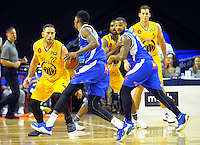 Torrey Craig in action during the national basketball league match between Wellington Saints and Mountain Airs at TSB Bank Arena, Wellington, New Zealand on Friday, 6 May 2016. Photo: Dave Lintott / lintottphoto.co.nz