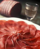 Europe/Italie : La bresaola unique produit de la charcuterie italienne à être fabriqué non à base de porc, mais à base de boeuf