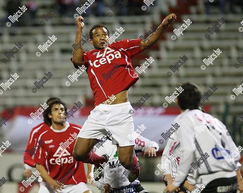 2008-03-08 / Voetbal / Antwerp FC - Eupen / Ray Frankel (Antwerp).Foto: Maarten Straetemans (SMB)