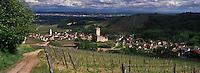 Europe/France/Alsace/68/Haut-Rhin/Katzenthal: Le village et le Château de Wineck