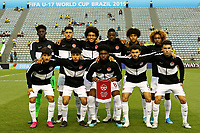 29th October 2019; Bezerrao Stadium, Brasilia, Distrito Federal, Brazil; FIFA U-17 World Cup Brazil 2019, Angola versus Canada;  Players of Canada poses for their official photo - Editorial Use