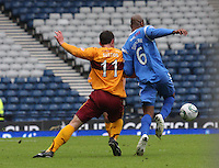 John Sutton and Michael Duberry again having a good tussle for the ball