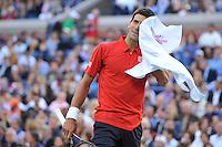 Novak Djokovic (Ser) <br /> Flushing Meadows 08/09/2013<br /> Tennis US Open Finale Uomini <br /> Foto Panoramic / Insidefoto<br /> ITALY ONLY